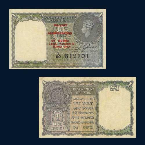 Indian-1-Rupee-Banknote-circulated-in-Burma