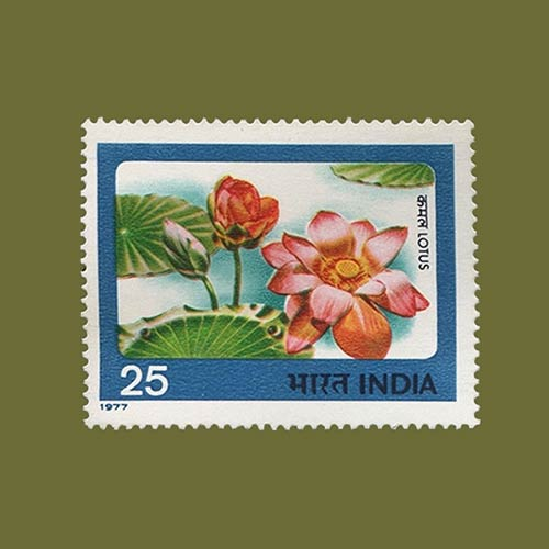 Indian-Flowers-on-stamps