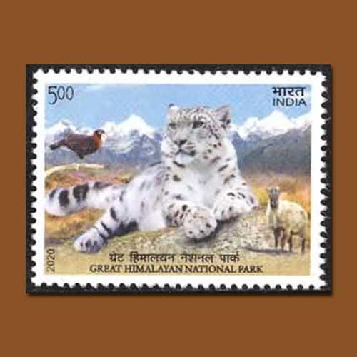 Indian-Stamp-features-the-Great-Himalayan-National-Park