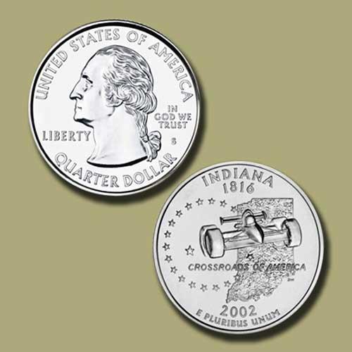 Indiana-State-Quarter-Dollar
