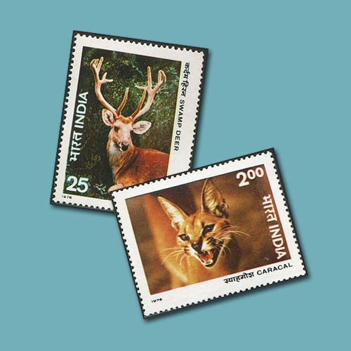 India's-wild-and-untamed-on-stamps-II