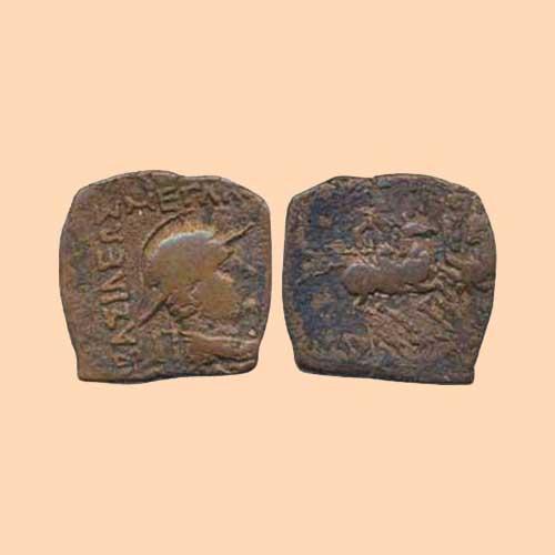 Indo-Greek-King-Eukratides-I-Copper-Coin