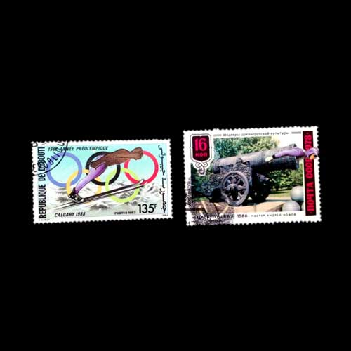 Innovative-art-on-postage-stamp