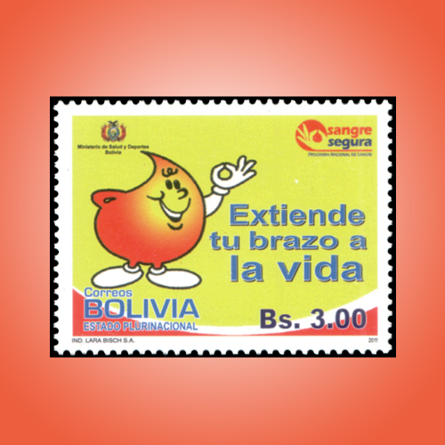 International-Blood-Donation-Day-Stamp