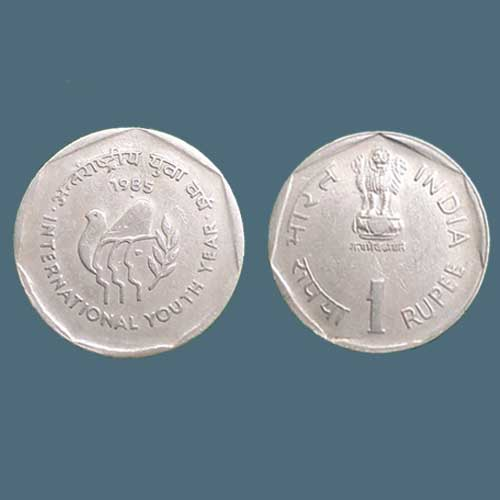 International-Youth-Year:-Commemorative-Coin