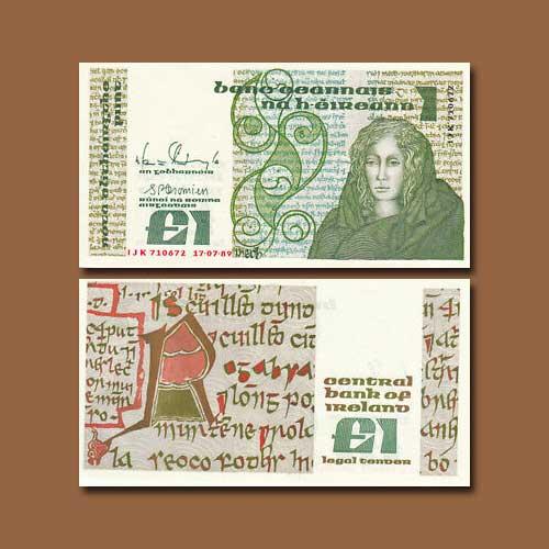 Ireland-1-Pound-banknote-1977-1989