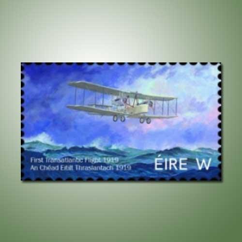 Irish-Stamp-mark-100-years-of-first-transatlantic-flight
