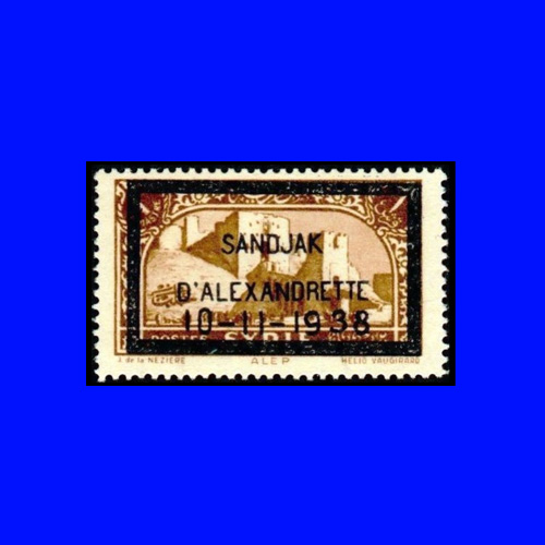 Iskenderun-City-issued-a-stamp-on-the-Death-of-Kemal-Ataturk