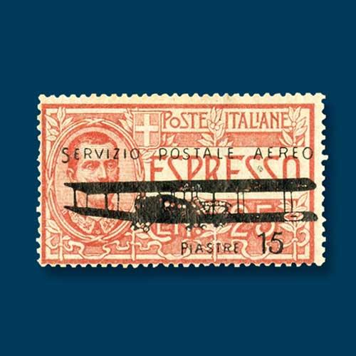 Italian-Levant-airmail-stamp
