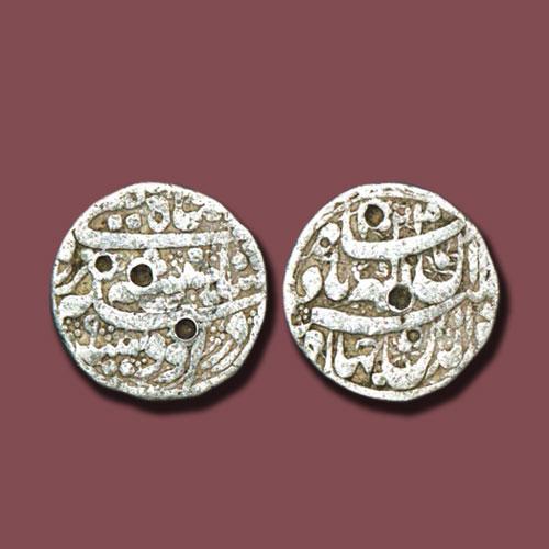 Jahangir-Udisa-Mint-Silver-Rupee