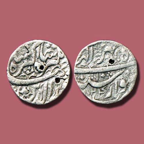 Jahangir's-silver-Rupee-of-Kishtwar-mint
