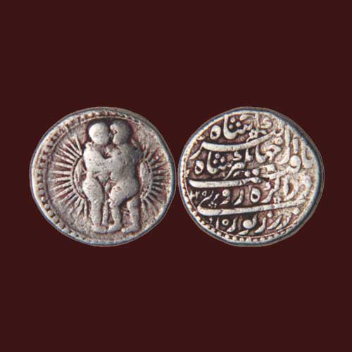"""Jahangir's-zodiac-Rupee-""""Gemini"""""""