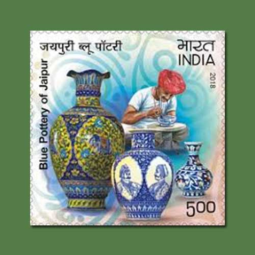 Jaipur-Blue-Pottery-on-stamp