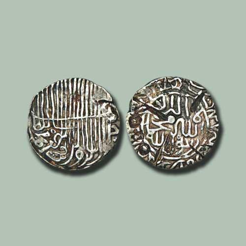 Jalal-Al-Din-Muhammad-Shah-Silver-Tanka
