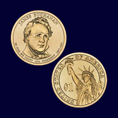 James-Buchanan-Commemorative-Coin
