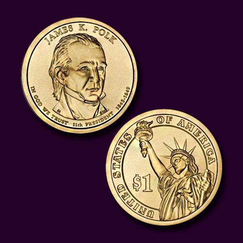 James-K.-Polk-Commemorative-Coin