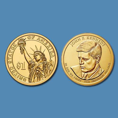 John-F.-Kennedy---Commemorative-Coin