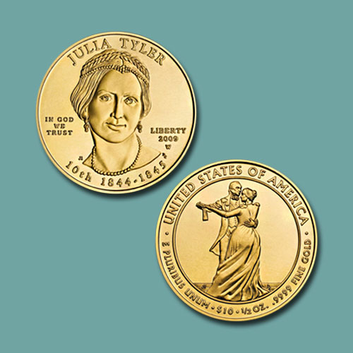 Julia-Tyler-10-Dollars-Coin