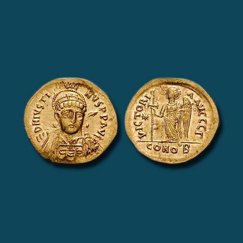 Justin-I--Byzantine-Emperor-was-born