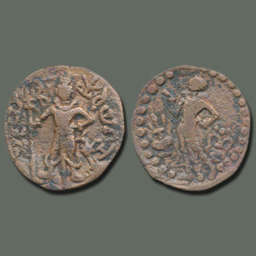 Kartikeya-on-Yaudheya-Coins