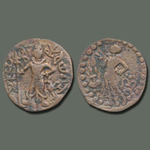 Kartikeya-on-Yaudheya-Coins