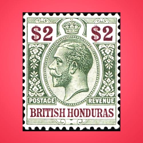 King-George-V-Stamp-by-Honduras
