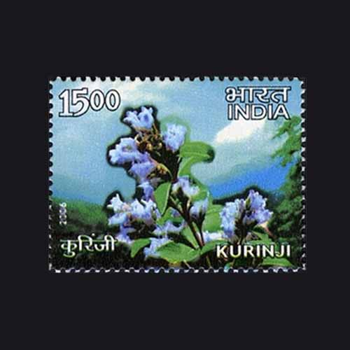 Kurinji-printed-on-Indian-Stamp
