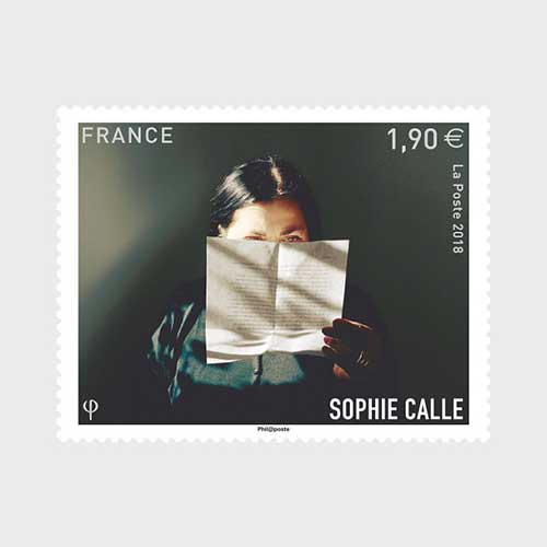 La-Poste-Honours-Sophie-Calle-with-a-Special-Stamp