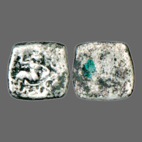 Lakshmi--on-Saurashtra-Janapada-Coin