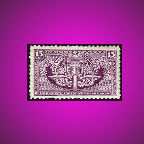 Latvia's-Railway-Newspaper-Stamp
