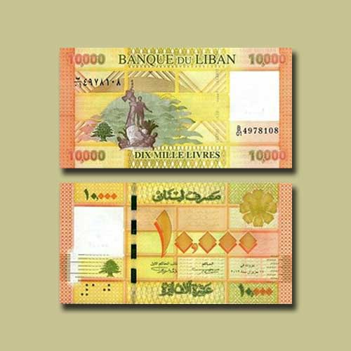 Lebanon-10000-Livres-banknote-of-2012
