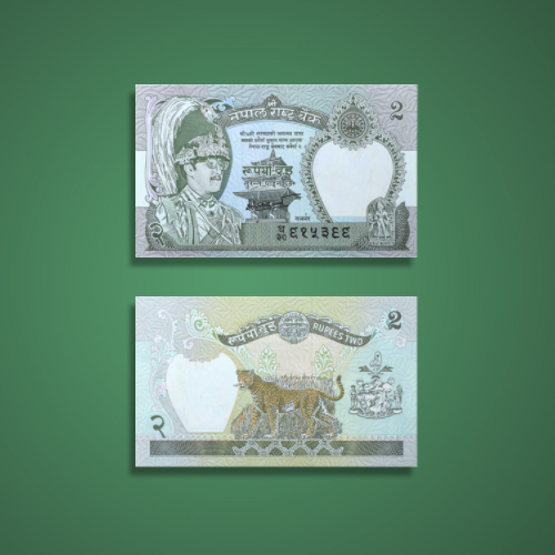 Leopard-on-Nepal's-Currency