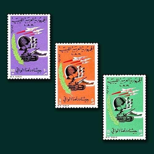 Libyan-Revolution-on-Stamps