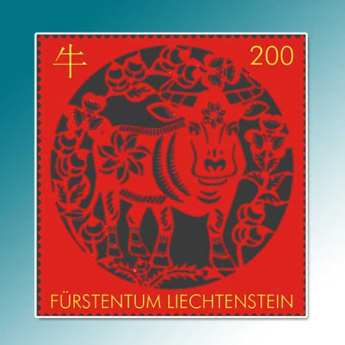 Liechtenstein-Post-celebrate-year-of-Ox