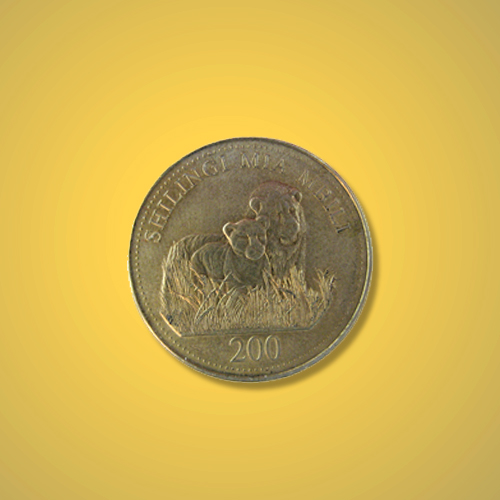 Lion-Couple-on-Tanzanian-Shilling