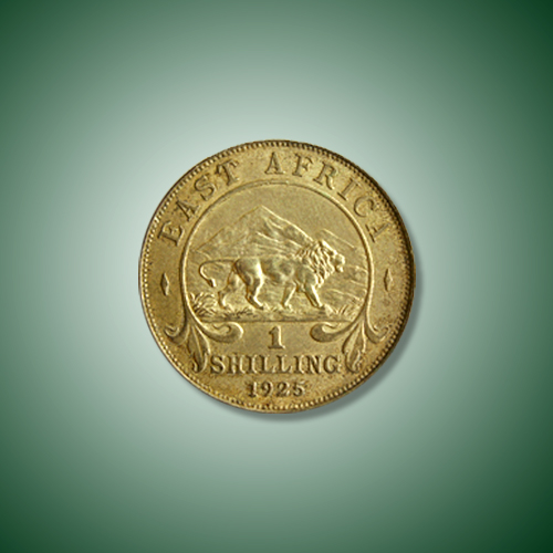 Lion-on-East-African-Shilling