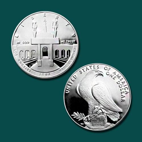 Los-Angeles-Olympiad-Coliseum-Silver-Dollar