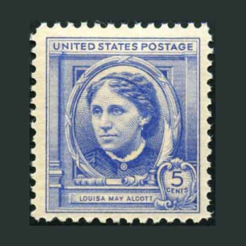 Louisa-May-Alcott-Commemorative-Stamp