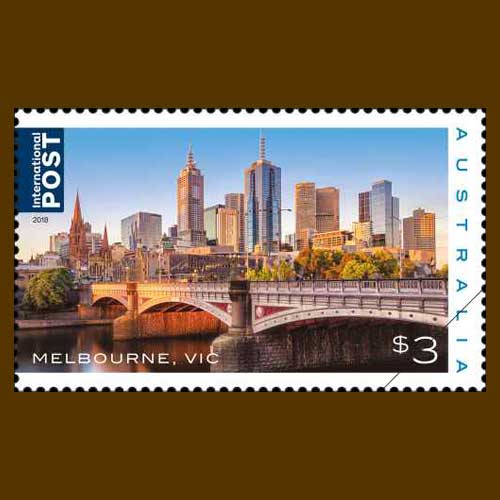 Magnificent-cities-of-Australia-on-stamp