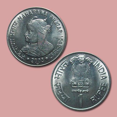 Maharana-Pratap-on-Coin