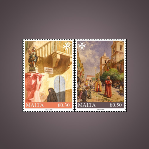 Malta-post-released-two-stamps-