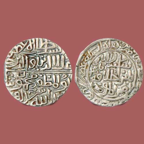 Malwa-Sultan-Ala-Al-Din-Mahmud-Shah's-I-Silver-Tanka