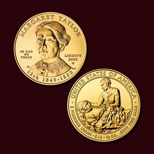 Margaret-Taylor-10-Dollars-coin