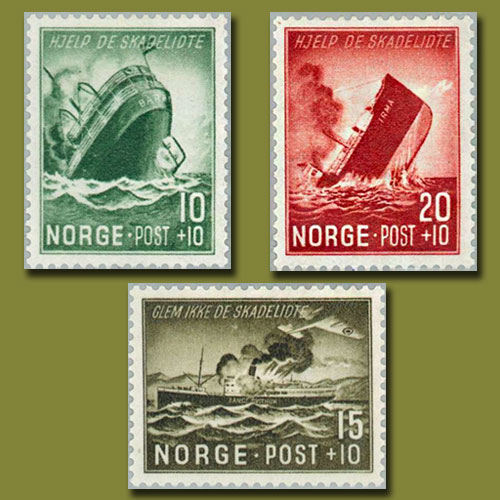 Maritime-Charity-Stamps-of-Norway