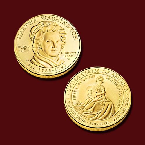 Martha-Washington-10-Dollar-Gold-Coin