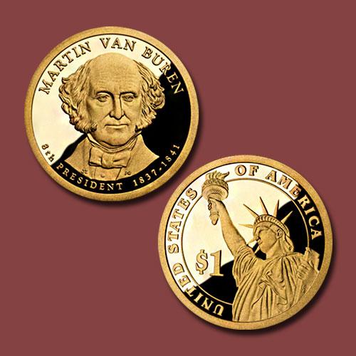 Martin-Van-Buren-Commemorative-Coin