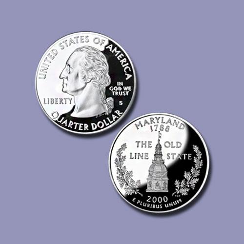Maryland-State-Quarter-Dollar