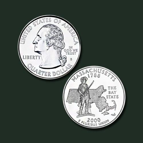 Massachusetts-State-Quarter-Dollar