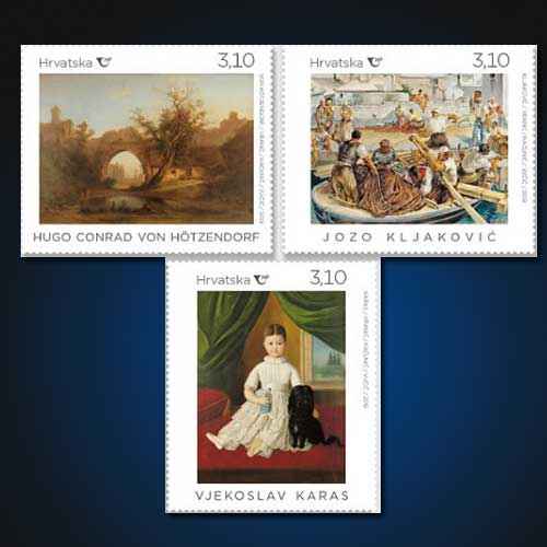 Masterpieces-of-three-masters-on-stamp-