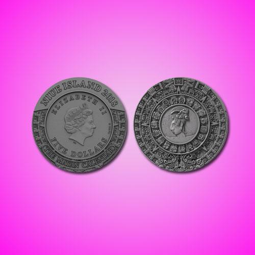 Mayan-Calendar-on-Niue-Coins